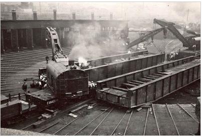Exposition : «La Gare de triage d'Outremont; l'empreinte d'une mémoire»